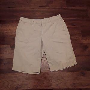 Tommy Hilfiger Khaki Burmuda Shorts Size 8